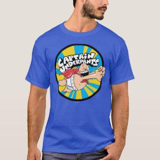 Fliegendes Held-Abzeichen Kapitän-Underpants | T-Shirt