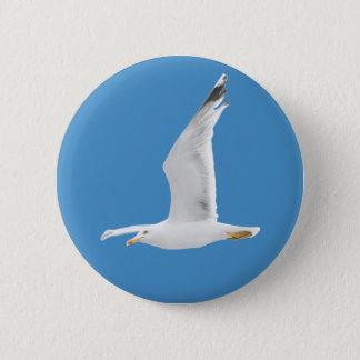 Fliegenseemöwe Runder Button 5,7 Cm