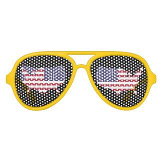 Flieger-Party-Schatten Amerikas erwachsene Piloten Sonnenbrillen