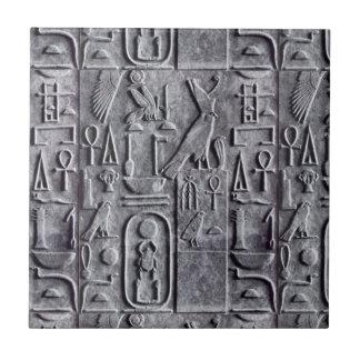 Flieseägyptische Egyptology-Hieroglyphen Symb Keramikfliese
