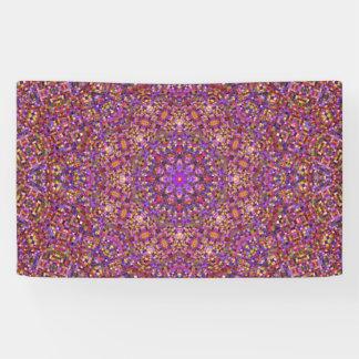 Fliesen-Art-Muster-Fahnen, 4 Größen Banner