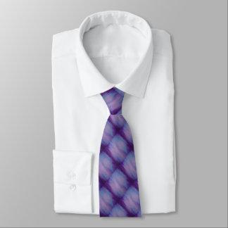 Flighty stilvoller rosa lila blauer Himmel bewölkt Bedruckte Krawatte