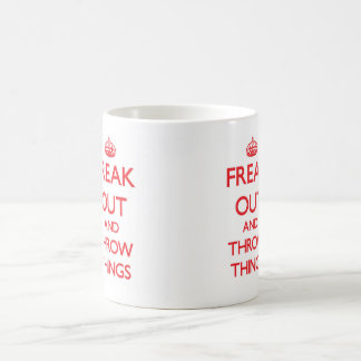 Flippen Sie heraus aus Kaffeetasse