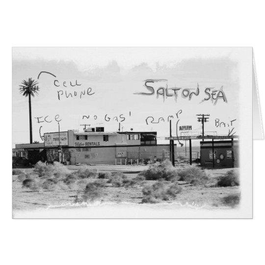 Flippige Ferien - Salton Meer Grußkarte