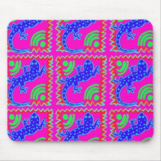 Flippige Tupfen-Eidechsen-Muster-Tier-Entwürfe Mousepads