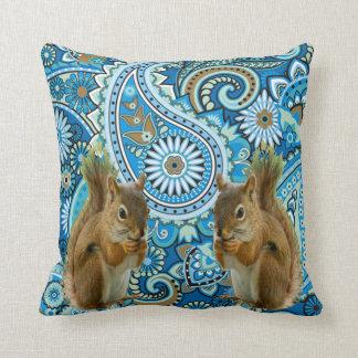 Flippiges Blumeneichhörnchen-Wurfs-Kissen Zierkissen