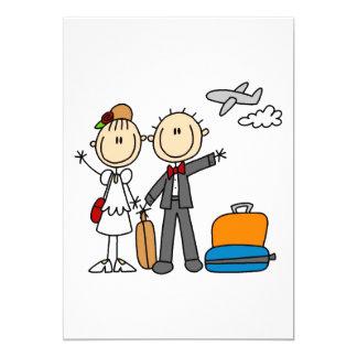 Flitterwochen-Zeit für die Braut und den Bräutigam