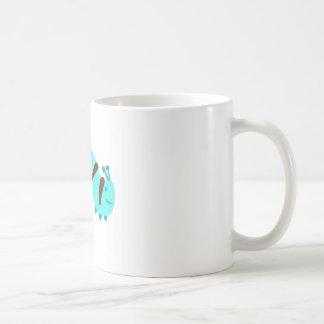 Flockige Raupe Kaffeetasse