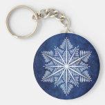 Flocon de neige Keychain Porte-clé