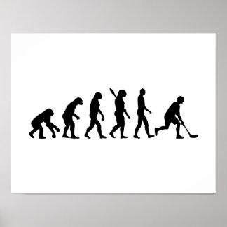 Floorball Evolution Poster
