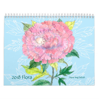 Flora-Kalender 2018 Abreißkalender