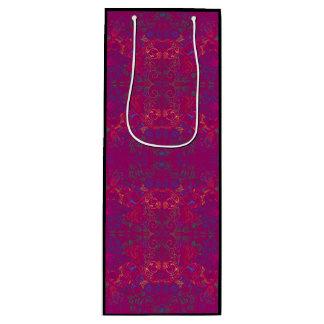 Floradore - Fuchsie Geschenktüte Für Weinflaschen