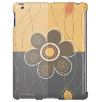 Floral moderne coque iPad