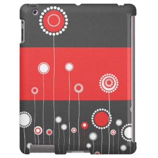 Floral moderne coque iPad