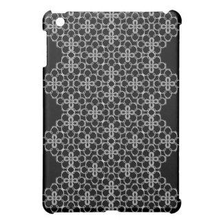 Floral noir et blanc coque iPad mini