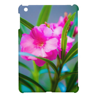 Floral rouge étui iPad mini