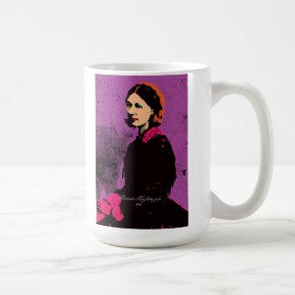 Florence Nightingale mit Pop-Kunst Tasse
