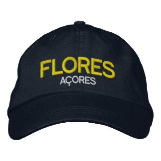 Flores Azoren stickte Hut