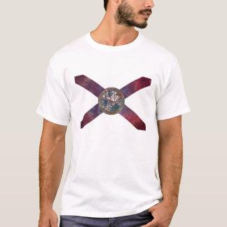 Florida-Flaggen-Nebelfleck T-Shirt