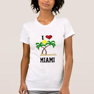 Florida: I Liebe Miami - Palmen und Sonnenschein T-Shirt