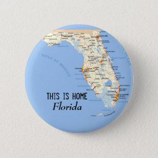 Florida Runder Button 5,1 Cm
