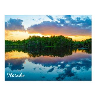 Florida-Sonnenuntergang Postkarte