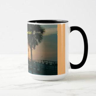 * Florida-Sonnenuntergang * Tasse