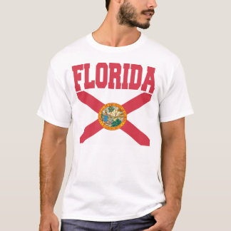Florida-Staats-Flaggen-T - Shirts