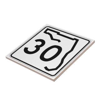 Florida-Staats-Weg 30 Keramikfliese