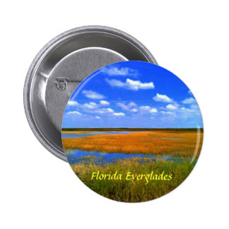 Florida-Sumpfgebiet-Knöpfe Runder Button 5,1 Cm