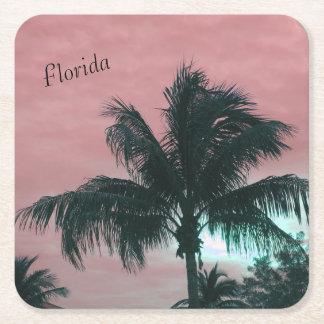 Florida-Untersetzer Rechteckiger Pappuntersetzer