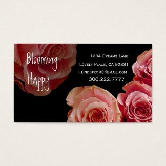 FLORIST - rosa Visitenkarten