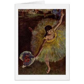 Flosse Edgar Degass | d'Arabesque Karte