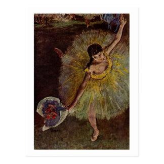 Flosse Edgar Degass | d'Arabesque Postkarte
