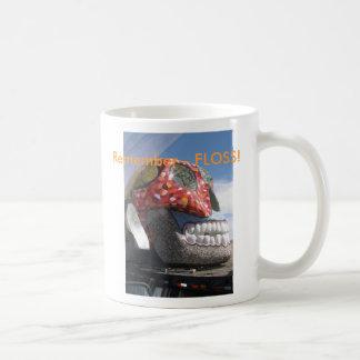 Flossing Erinnerung Kaffeetasse