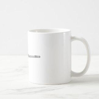 Flöte Kaffeetasse