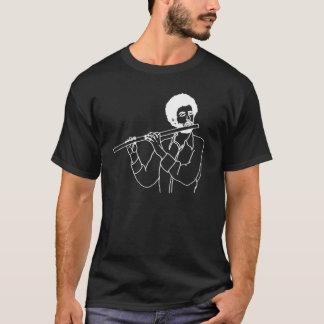 Flöten-Hipster T-Shirt