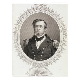 Flottenadmiral-Andrew-Rumpf Foote Postkarte
