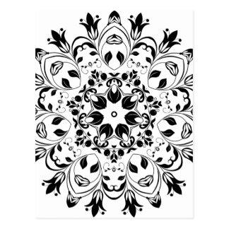 Flourishing-Floral-Design-800px Postkarte