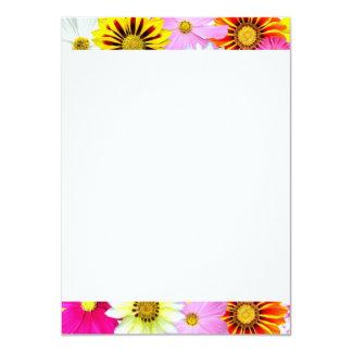[FLOW-001] Flower power Carton D'invitation 11,43 Cm X 15,87 Cm