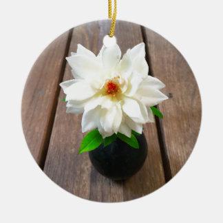flower18 keramik ornament