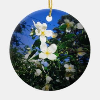 flower2 keramik ornament