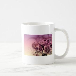 Flower Art Mug Blanc