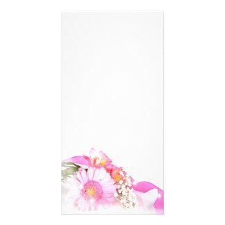 flower photocartes personnalisées