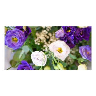 flower modèle pour photocarte