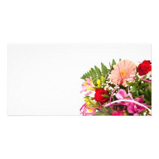 flower photocarte