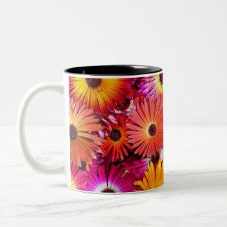 Flower Cup Mug Bicolore