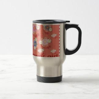 flower girl mug de voyage en acier inoxydable