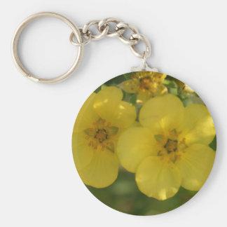 flower porte-clé rond