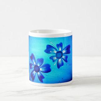 Flower Power2 Mug Blanc